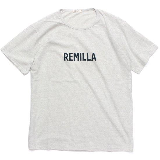 remilla レミーラ|REMILLA Tee (オフグレイ)(Tシャツ プリントTEE)