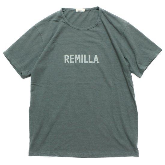 remilla レミーラ|REMILLA Tee (アッシュグリン)(Tシャツ プリントTEE)