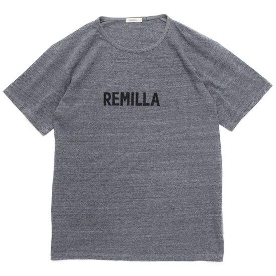 remilla レミーラ|REMILLA Tee (グレイ杢)(Tシャツ プリントTEE)