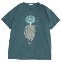 remilla レミーラ|CONSCIOUS-SUBCONSCIOUS TEE (グリン)(Tシャツ)
