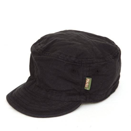 Phatee ファティ|HALF CAP (ブラックフラット)(ハーフキャップ)