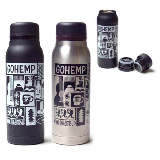 GO HEMP ゴーヘンプ|FLASKER 420 Buena manana (保温保冷ボトル)