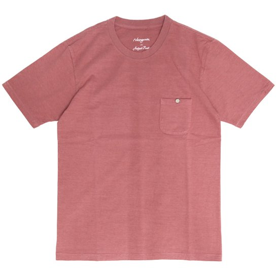 Nasngwam ナスングワム|August Roots CONCHO TEE (ブリック)(コンチョTEE)