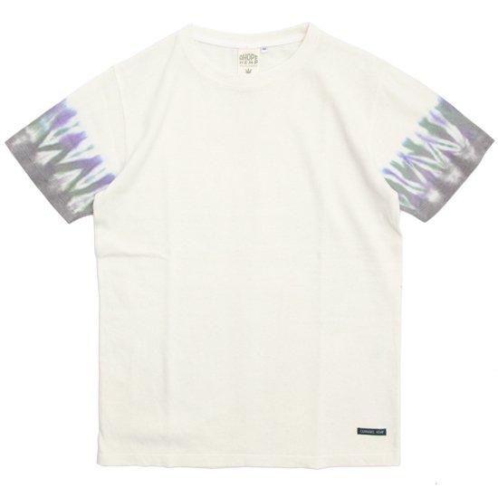 A HOPE HEMP アホープヘンプ|TYE DYE S/S Tee JV030N (グレー)(染めTシャツ)