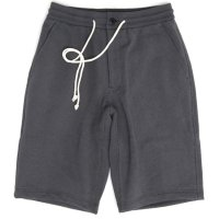 Jackman ジャックマン|JM4832 Sweat Shorts (ダークグレイ)(スウェットショーツ)