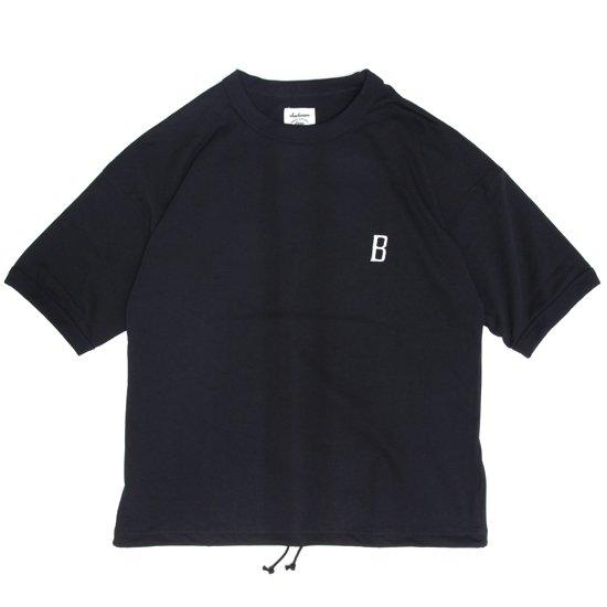 Jackman ジャックマン|JM5820 Grace T-shirt (ブラック)(ワイドTEE)