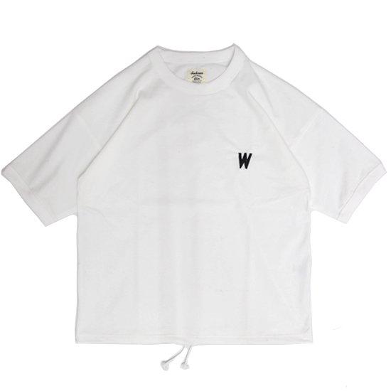 Jackman ジャックマン|JM5820 Grace T-shirt (ホワイト)(ワイドTEE)