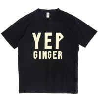 Jackman ジャックマン|JM5817 Print T-shirt (ブラック)(プリントTEE)