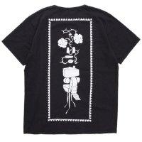 remilla レミーラ|ドローバック TEE (ブラック)(Tシャツ プリントTEE)