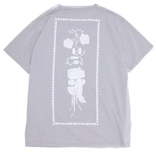 remilla レミーラ|ドローバック TEE (ライトグレイ)(Tシャツ プリントTEE)