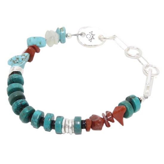 Tsunai Haiya ツナイハイヤ Colorfield Beads Bracelet (B)(ビーズブレスレット)