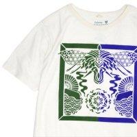 GO HEMP ゴーヘンプ|The gate of smoke S/SL TEE by 梵暮堂 (オリーブグリーン)(プリント Tシャツ)