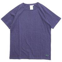 A HOPE HEMP アホープヘンプ|ラグラン S/S Tee (インクブルー)(無地TEE ラグランTシャツ)