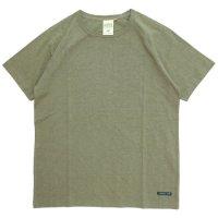 A HOPE HEMP アホープヘンプ|ラグラン S/S Tee (ラットセージ)(無地TEE ラグランTシャツ)