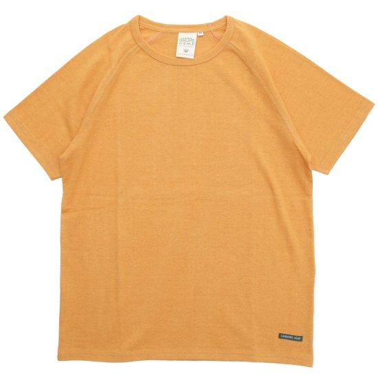 A HOPE HEMP アホープヘンプ|ラグラン S/S Tee (デザートムーン)(無地TEE ラグランTシャツ)