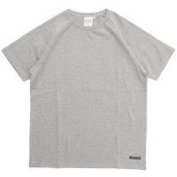 A HOPE HEMP アホープヘンプ|ラグラン S/S Tee (アッシュドグレイ)(無地TEE ラグランTシャツ)