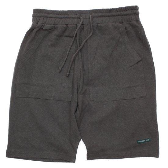 A HOPE HEMP アホープヘンプ|The Half Shorts (オールドブラッキー)(ショートパンツ ヘンプコットン)