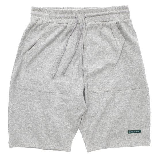 A HOPE HEMP アホープヘンプ|The Half Shorts (アッシュドグレイ)(ショートパンツ ヘンプコットン)