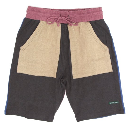 A HOPE HEMP アホープヘンプ The Half Shorts (クレイジー)(ショートパンツ ヘンプコットン)