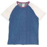A HOPE HEMP アホープヘンプ|ラグラン S/S Tee (クレイジー)(無地TEE ラグランTシャツ)