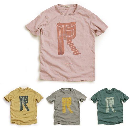 remilla レミーラ【予約商品】7月下旬入荷予定 R-Tee (キッズサイズ Tシャツ)