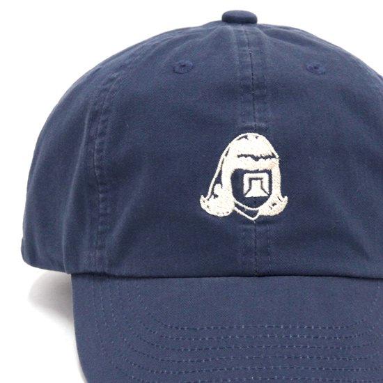 TACOMA FUJI RECORDS タコマフジレコード|LOGO HERRINGBONE CAP (ネイビー)(キャップ)