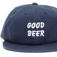 TACOMA FUJI RECORDS タコマフジレコード|GOOD BEER HERRINGBONE CAP (ネイビー)(キャップ)