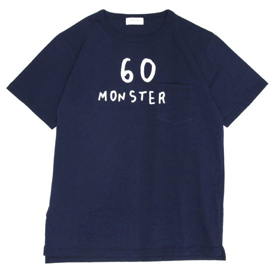 SPINNER BAIT スピナーベイト|BD天竺 プリント S/S TEE (ネイビー)(プリントTシャツ)