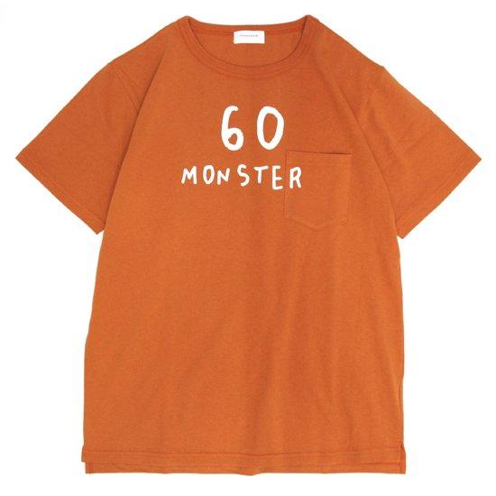 SPINNER BAIT スピナーベイト|BD天竺 プリント S/S TEE (オレンジ)(プリントTシャツ)