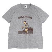 TACOMA FUJI RECORDS タコマフジレコード|TRAILS FOR ALES TEE (ヘザーグレイ)(プリントTシャツ)