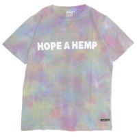 A HOPE HEMP アホープヘンプ|Rainbow Regular S/S Tee (レインボー)(ヘンプコットン Tシャツ)