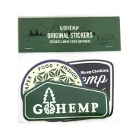 GO HEMP ゴーヘンプ|ORIGINAL STICKERS (Bセット)(ステッカー)