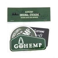 GO HEMP ゴーヘンプ|ORIGINAL STICKERS (Aセット)(ステッカー)