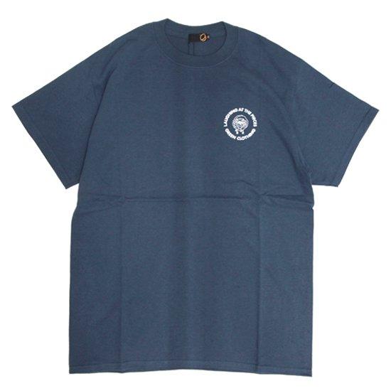 GREEN CLOTHING (グリーンクロージング)#4 Sheep TEE (インディゴ)(プリントTシャツ)