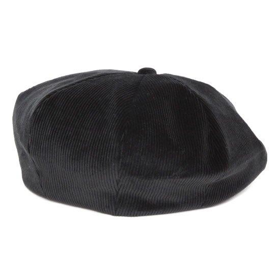 Nasngwam ナスングワム|ZEPPET BERET (ブラック)(コーデュロイ ベレー帽)