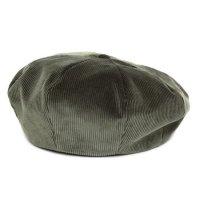 Nasngwam ナスングワム|ZEPPET BERET (オリーブ)(コーデュロイ ベレー帽)