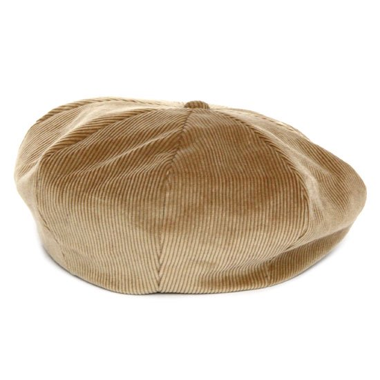 Nasngwam ナスングワム|ZEPPET BERET (ベージュ)(コーデュロイ ベレー帽)