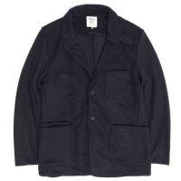 Jackman ジャックマン|JM8760 Jersey Jacket (ダークネイビー)(ジャージジャケット)