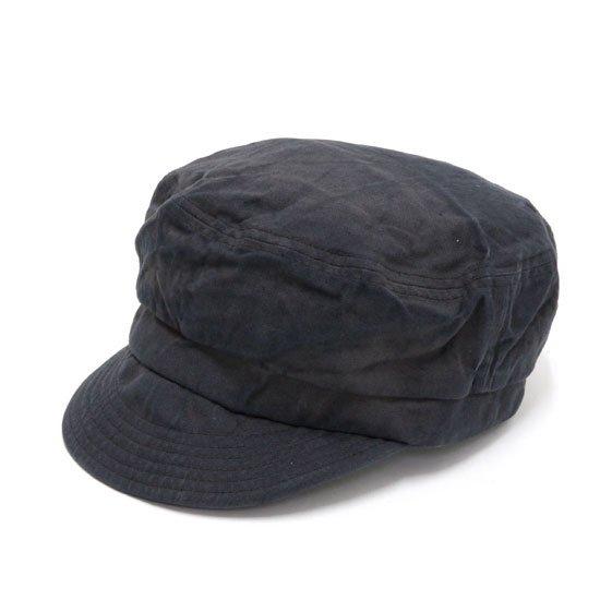 GO HEMP ゴーヘンプ|CANVAS BAKER CAP (チャコール)(後染め ベイカーキャップ)