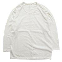 remilla レミーラ|UネックTEE (アンダーホワイト)(長袖Tシャツ)