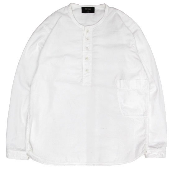 remilla レミーラ|タゴプルシャツ (ホワイト)(プルオーバーシャツ)