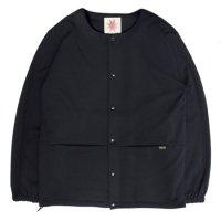 Nasngwam ナスングワム|ASSIST JACKET JERSEY (ブラック)(ノーカラージャケット)