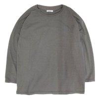 remilla レミーラ|カバーネックTEE (グレイ)(長袖Tシャツ)