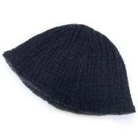 remilla レミーラ|デクノ帽 (チャコール)(リバーシブルハット)