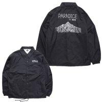 KM4K カモシカ|OG COACH AS JACKET (ブラック)(カモシカ コーチジャケット)