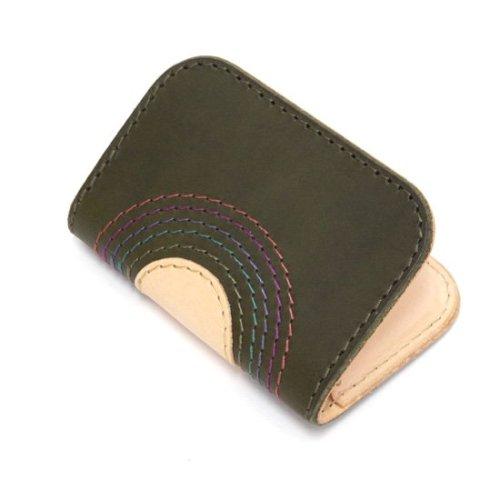 MAGIC THEATER マジックシアター|RAINBOW 22°HALO 08 CARD CACE (オリーブ)(カードケース 名刺入れ)