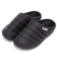 SUBU スブ|WINTER CAMPER SANDAL (ブラック)(冬用スリッポン 冬のサンダル)