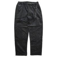 Phatee ファティ|VENUE PANTS CORD (ブラック)(コーデュロイパンツ)
