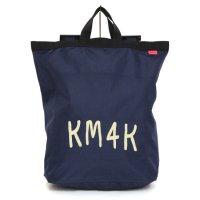 KM4K カモシカ|PARADICE BACK PACK (ネイビー)(パラダイス バックパック)