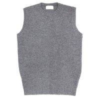 soglia ソリア|LANDNOAH Vest (グレイ)(ランドノアベスト ニットベスト)